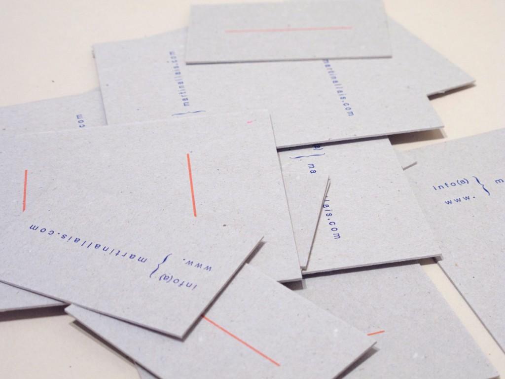 Martin Allais personal cards