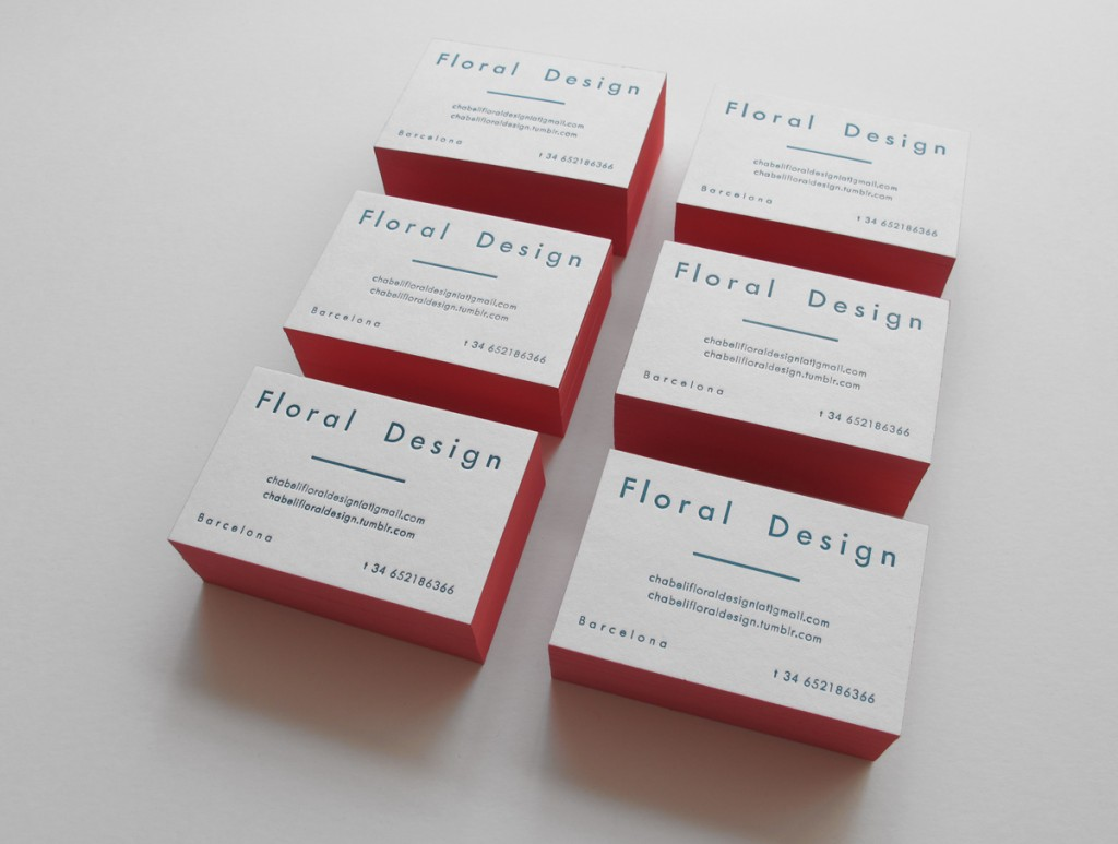 Chabeli 'Floral Design' cards